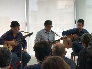 Domingo Rdez., Benito Cabrera y Tomás Fariña