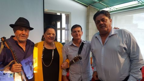 Domingo Rdez., Manola y Carmelo Rdez de Milán, Benito Cabrera y